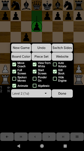 Chess for Android  screenshots 3