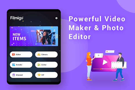 Video Maker of Photos with Music & Video Editor