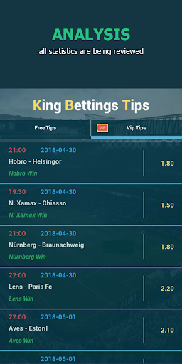 King Betting Tips Football App NEW Screenshots 3