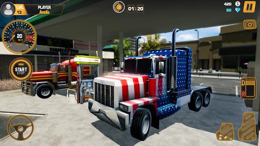 Heavy Truck Simulator USA: Euro Truck Driving 2021 android2mod screenshots 2