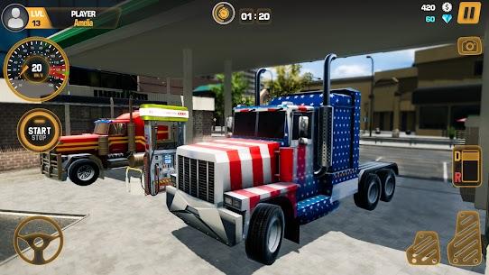 Free Heavy Truck Simulator USA  Euro Truck Driving 2021 2