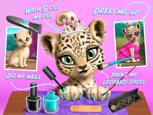 Baby Jungle Animal Hair Salon - Pet Style Makeover 4.0.10005 Screenshots 8