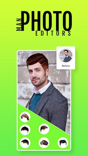 Man Photo Editor & Men HairStyle, Suits  screenshots 6