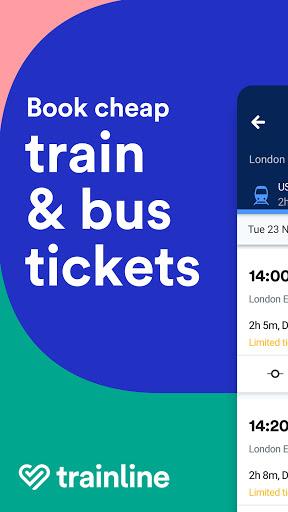 Trainline - Buy cheap European train & bus tickets 144.0.0.65146 screenshots 1