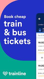 Trainline - Buy cheap European train & bus tickets 172.0.0.71790 Screenshots 1