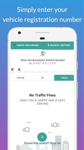 Bangalore Traffic Challan/Fine Checker apktram screenshots 1