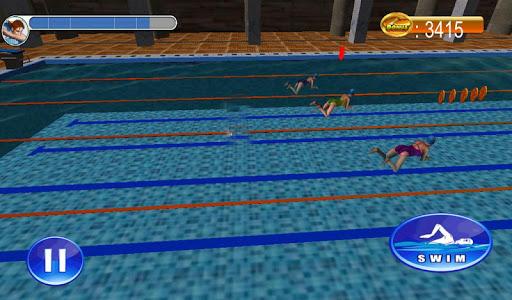Swimming Race 3D screenshots 8