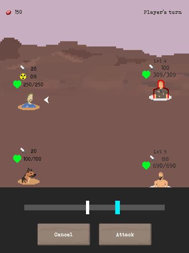 u2622 The Wanderer - Post-Apocalyptic RPG Survival  screenshots 9