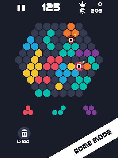 Hexa Mania Fill Hexagon Puzzle, Hex Block Blast  screenshots 8