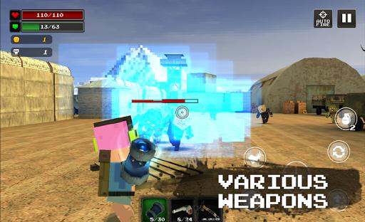 Pixel Z Hunter2 3D - World Battle Survival TPS  screenshots 2