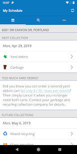 Garbage and Recycling Day