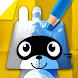 パンゴペーパーカラー : 子供向けの塗り絵ゲーム