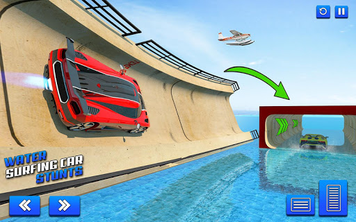 Water Surfing Car Stunt Games: Car Racing Games  screenshots 15