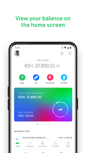 M-PESA android2mod screenshots 3