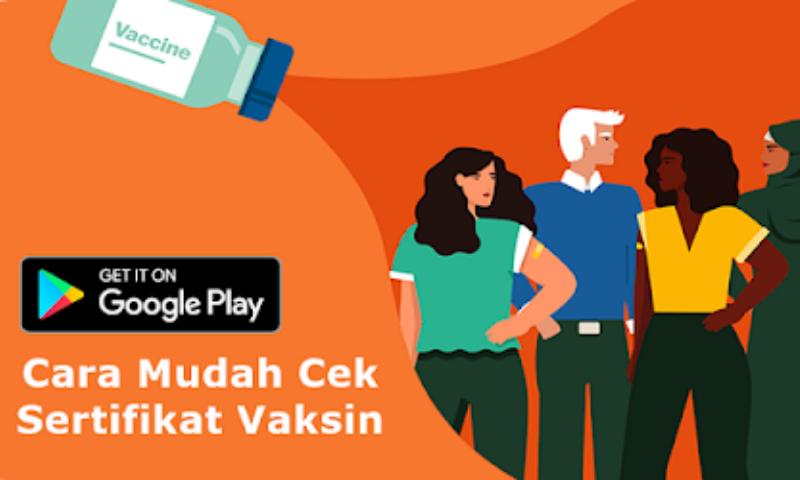 Image For Cara Mudah Cek Sertifikat Vaksin Online Versi 4.50 1