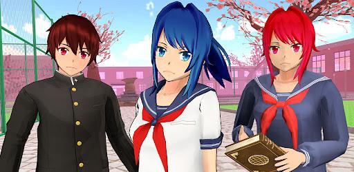 Anime School Life 3D: Virtual Japanese High School Versi 1.0
