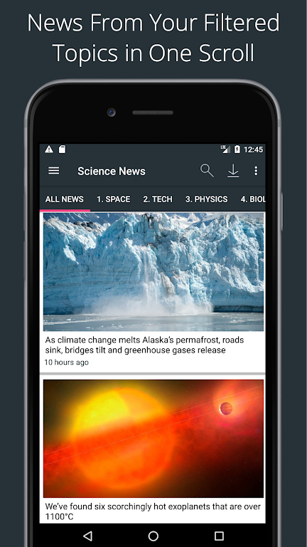 Science News Daily: Science Articles and News App  poster 0