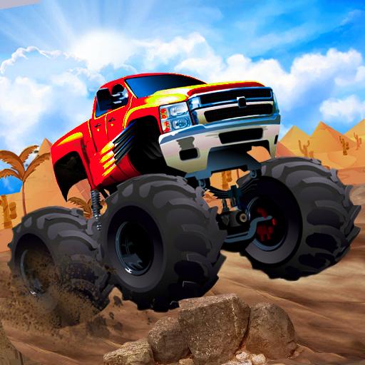 Mega Ramp Monster Truck Racing Games