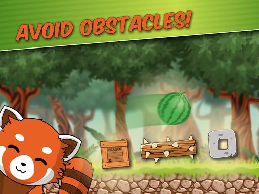 Red Panda: Casual Slingshot & Animal Logic Game  screenshots 7