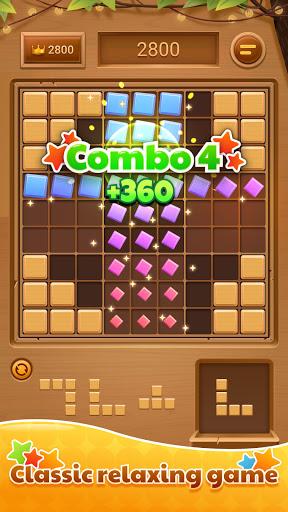 Code Triche Wood Block Puzzle - Free Sudoku Tetris Jigsaw Game (Astuce) APK MOD screenshots 1