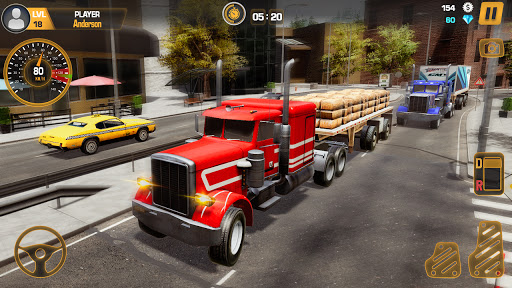 Heavy Truck Simulator USA: Euro Truck Driving 2021 android2mod screenshots 7