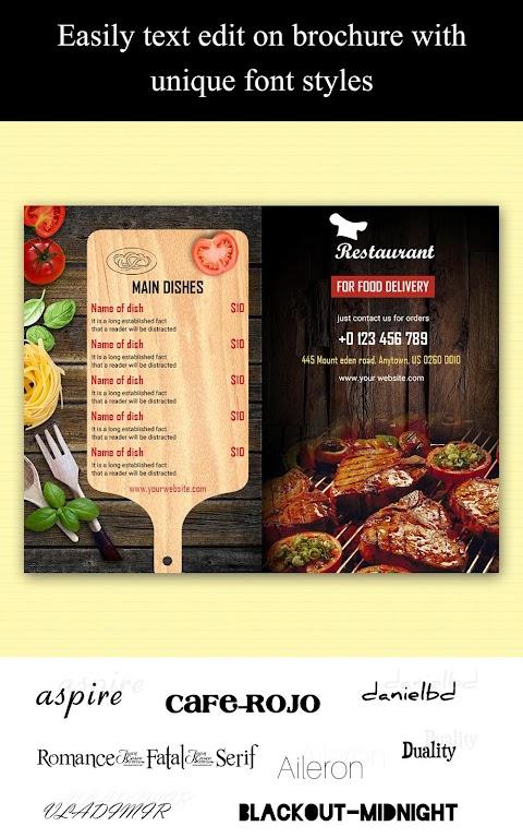 Brochure Maker - Pamphlets, Infographics, Catalog  poster 19