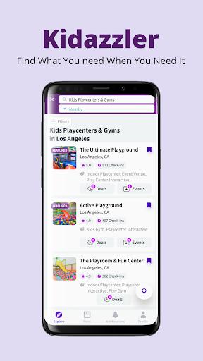 kidazzler - all-in-one parenting platform screenshot 2