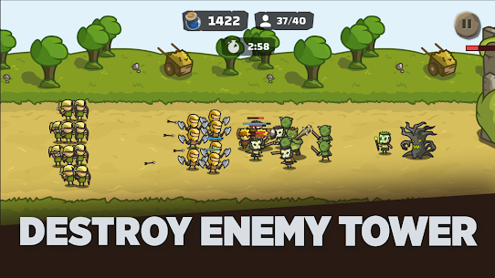 Tower Royale Stick Kingdom War Mod Apk 1.2 (Inexhaustible Currency) 1