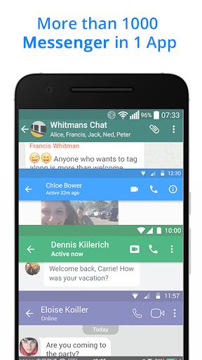 Messenger Go for Social Media, Messages, Feed 3.20.5 Screenshots 1