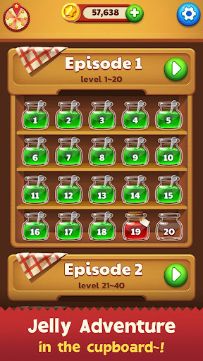 Jelly Drops - Free Puzzle Games 4.5.0 screenshots 4