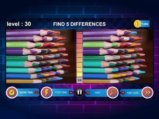 Spot 5 Differences 1000 levels 1.6.8 screenshots 16