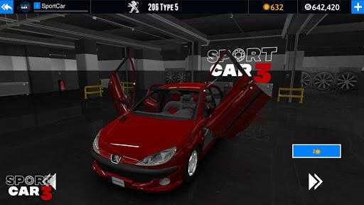 Sport car 3 : Taxi & Police -  drive simulator  screenshots 7