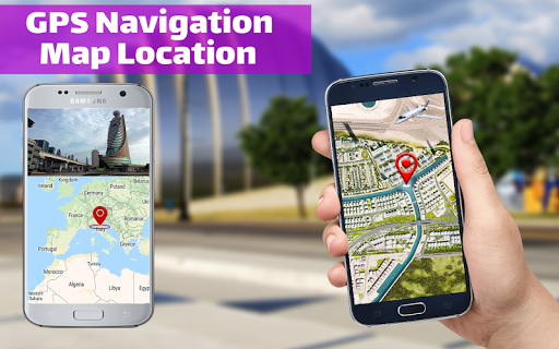 GPS Navigation & Map Direction - Route Finder  Screenshots 2