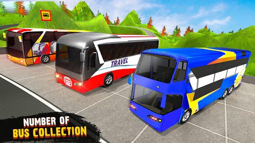 OffRoad Tourist Coach Bus Driving- Free Bus games apktram screenshots 6