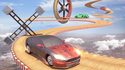 Mega Ramp Car Stunts Racing : Impossible Tracks 3D screenshots 11