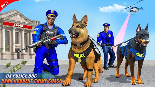 US Police Dog Bank Robbery Crime Shooting Game apkdebit screenshots 12