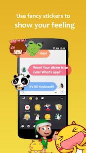GO Keyboard Lite - Emoji keyboard, Free Theme, GIF 3.25 Screenshots 5