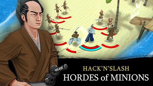 Bushido Saga - Nightmare of the Samurai apkpoly screenshots 18