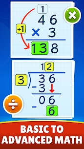Math Games – Addition, Subtraction, Multiplication Apk Download 3
