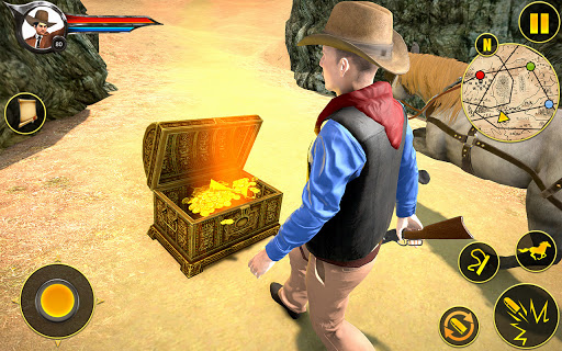 Cowboy Horse Riding Simulation apktram screenshots 5