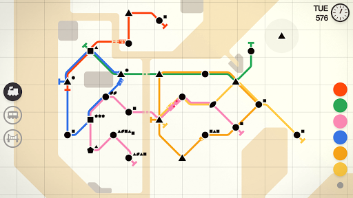 Mini Metro Varies with device screenshots 6