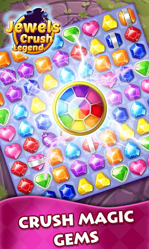 Jewels Crush Legend- Diamond & Gems Match 3  screenshots 2