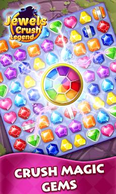 Jewels Crush Legend- Diamond & Gems Free Match 3のおすすめ画像2
