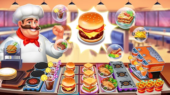 Crazy Chef: Fast Restaurant Cooking Games 4
