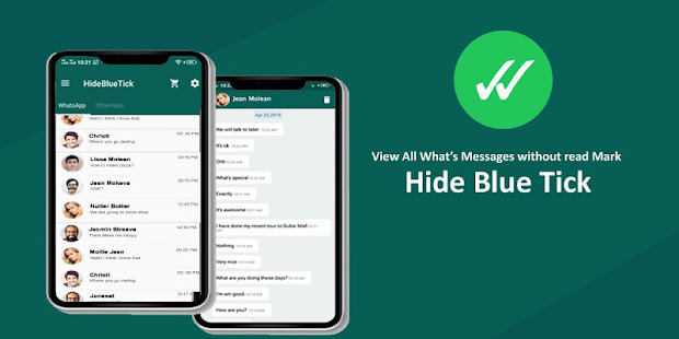 Hide Blue Ticks : No Last Seen