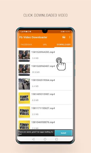 FastVid: Video Downloader for Facebook 4.4.2 Screenshots 4