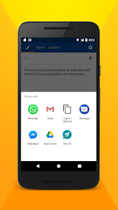 Write SMS by voice 3
