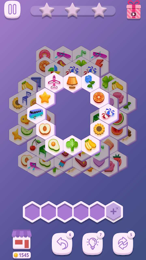 Tile Match Hexa 1.0.2 screenshots 1