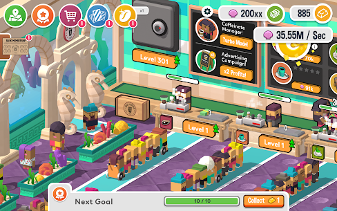 Idle Coffee Corp MOD APK 2.27 (Unlimited Coins) 14