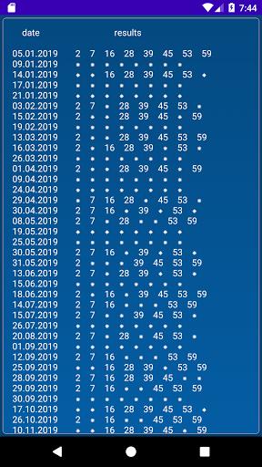 Keno BY  statistics 1.2.18 screenshots 5